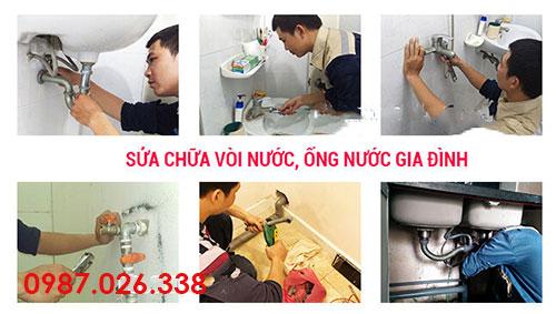 Sửa chữa vòi nước tại Hoàng Mai