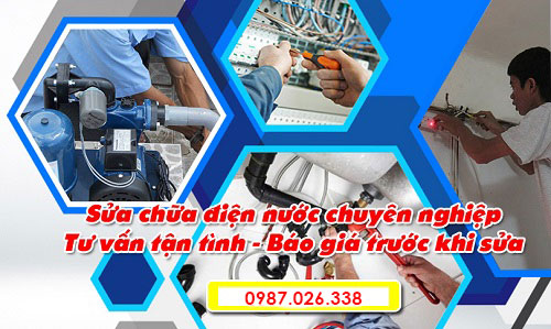 Dịch vụ sửa chữa điện nước chuyên nghiệp
