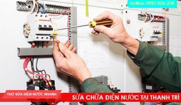 Thợ sửa điện tại Thanh Trì