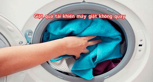 Nguyên nhân làm cho máy giặt không quay