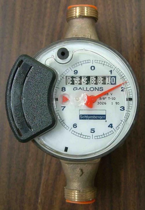 đồng hồ nước 7 số