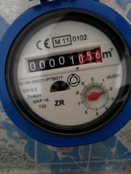 đồng hồ nước 8 số