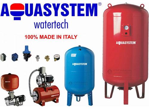 Bình tích áp Aquasystem