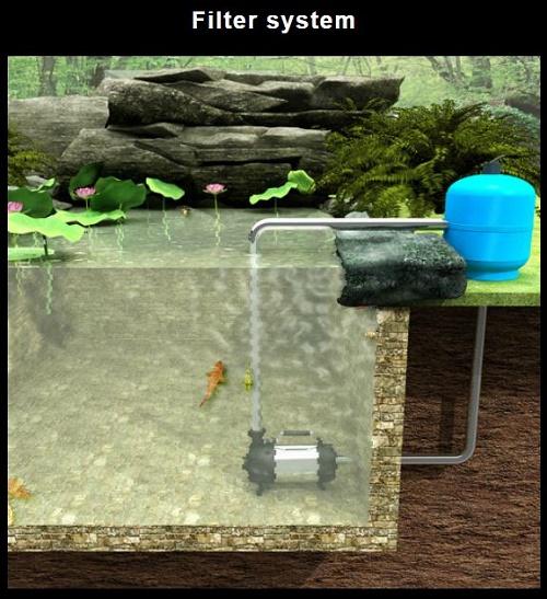 máy bơm chìm hồ cá
