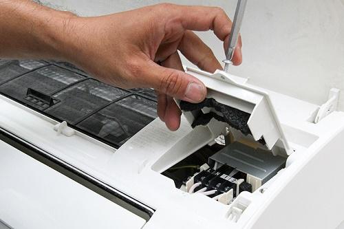 lắp dàn lạnh cho máy lạnh phòng trọ