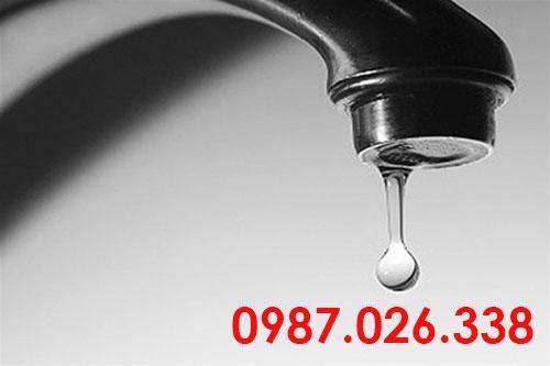 Sửa vòi nước lavabo bị rỉ nước