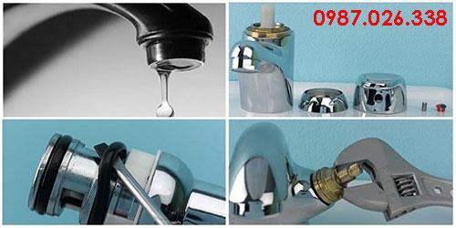 Tháo vòi nước rửa chén