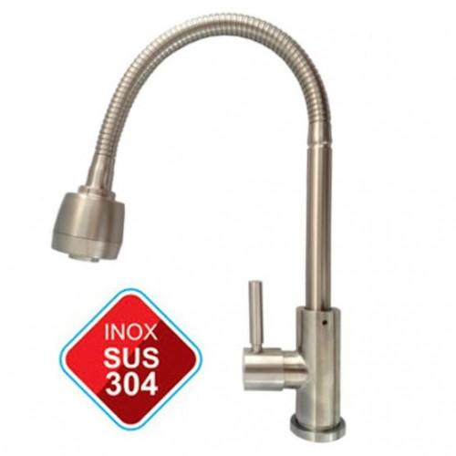 Vòi nước rửa chén 2 đầu nóng lạnh