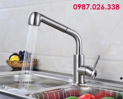 Vòi nước rửa chén inox