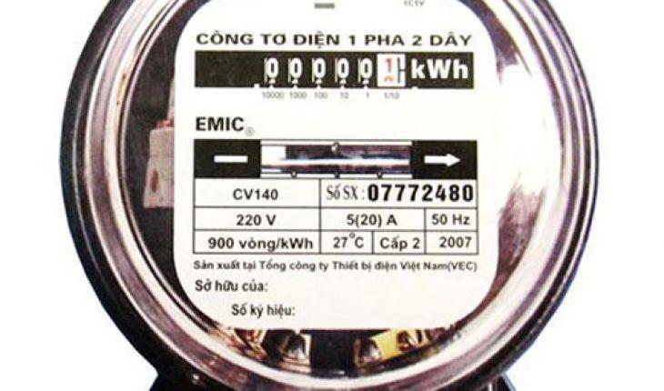 Công tơ điện là gì