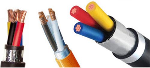 Dây cáp điện 3 pha Cáp điện lực hạ thế 1- 4 lõi, giáp 2 lớp