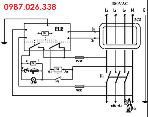 Nguyên lý cấu tạo aptomat chống giật 3 pha