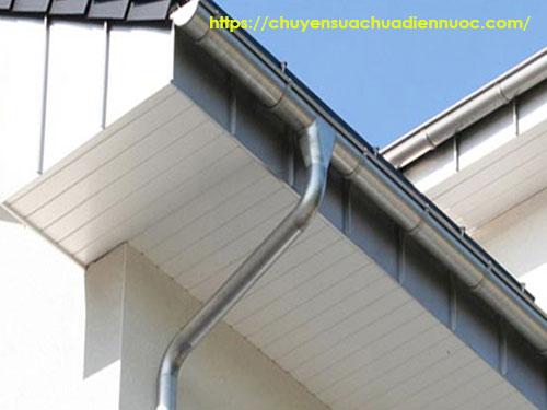 Hệ thống ống dẫn thoát nước mưa