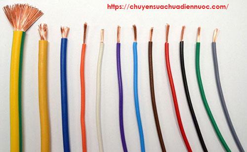 Quy ước màu dây dẫn điện