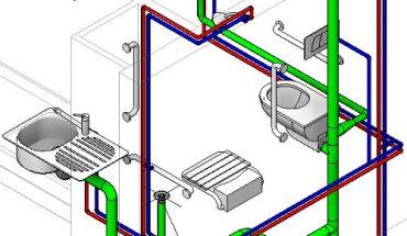Lắp ống thoát sàn