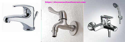 Các loại vòi nước nhà vệ sinh