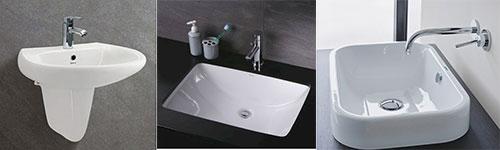 3 thiết kế lavabo chậu rửa mặt
