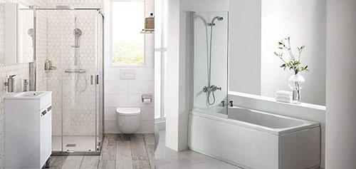 nên chọn bồn tắm đứng hay bồn tắm nằm