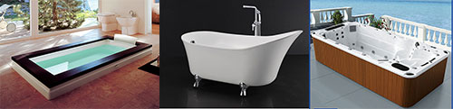 Các loại bồn tắm