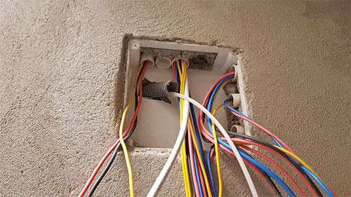 Các loại dây điện âm trần - âm tường