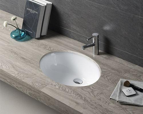Cách lắp lavabo âm bàn đá