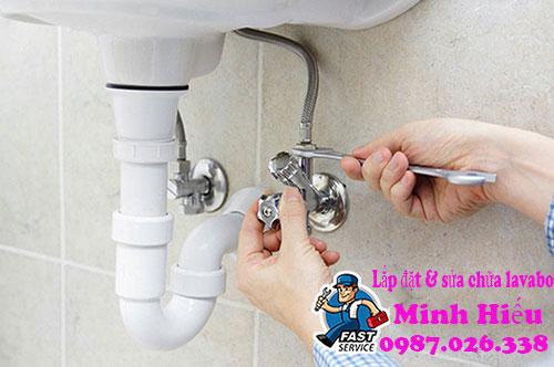Cách lắp đặt lavabo rửa mặt