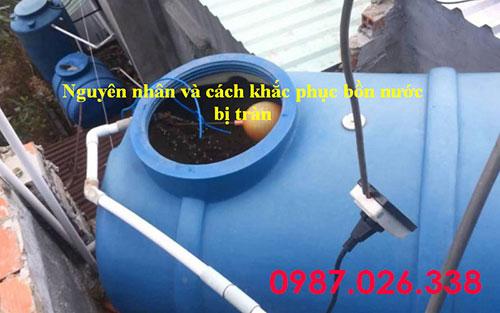 cách sửa phao cơ bồn nước