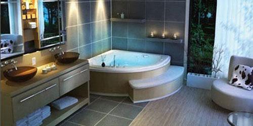 Chọn bồn tắm phù hợp không gian phòng tắm