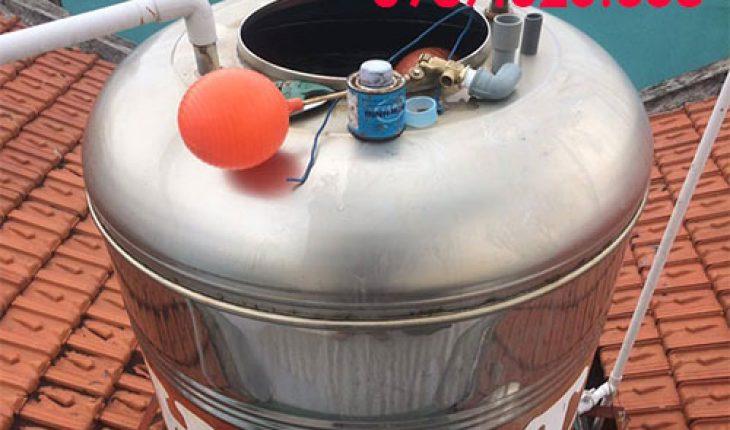 lắp đặt phao cơ chống tràn bồn nước