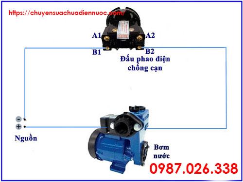 Nguyên tắc lắp phao điện bồn nước