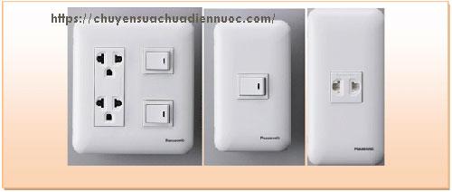 Ổ cắm điện âm tường Panasonic