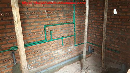 Thiết kế đường ống nước âm tường