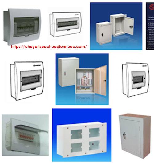 Vỏ tủ điện âm tường đủ các kích thước, chất liệu