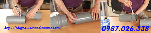 Sử dụng keo dán ống nhựa chịu nhiệt PPR