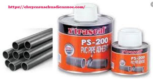 Keo dán ống nhựa PVC nhựa ABS XTRASEAL