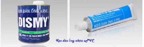 Keo dán ống nhựa uPVC