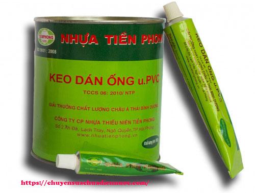 Keo dán ống nước Tiền Phong