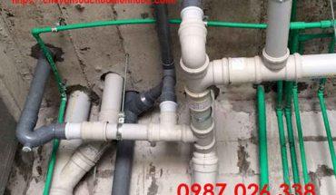 biện pháp thi công ống thoát nước thải sinh hoạt