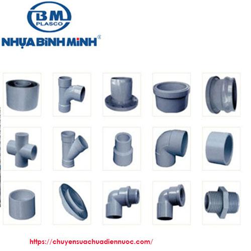 Phụ kiện ống nhựa Bình Minh