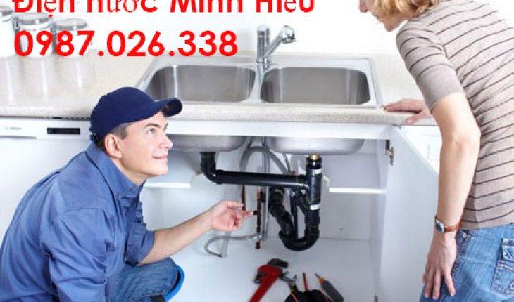 lắp ống thoát nước lavabo chậu rửa