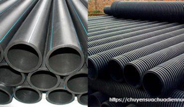 Các loại ống nhựa HDPE