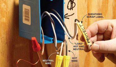 Cách đấu ổ cắm điện 2 chấu