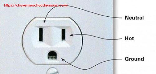 cấu tạo ổ cắm điện 3 chấu