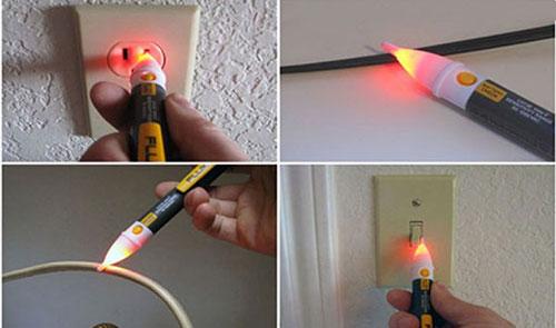 Bút dò dây điện âm tường